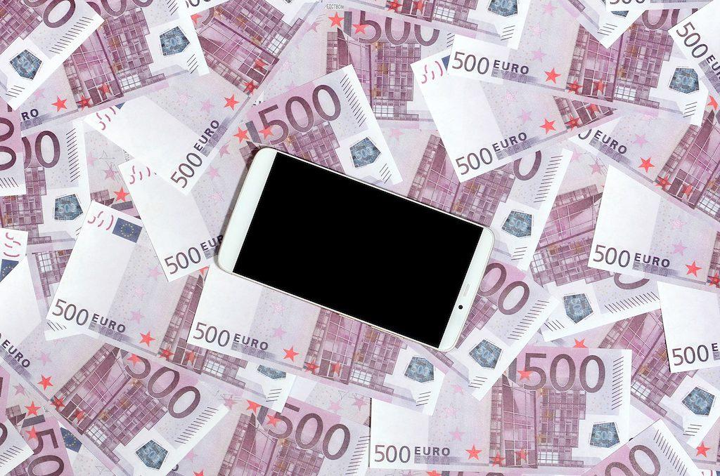 500 euroa